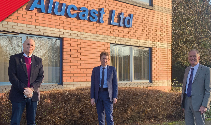 Alucast's move to lightweighting wins mayoral approval