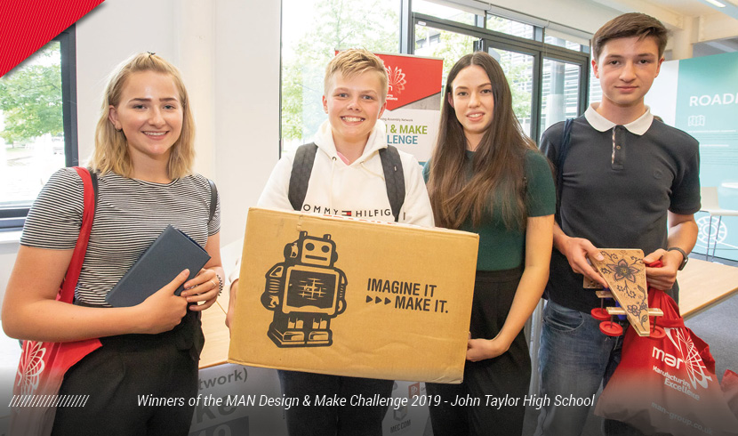 Schools show the 'need for speed' at MAN Design & Make Challenge