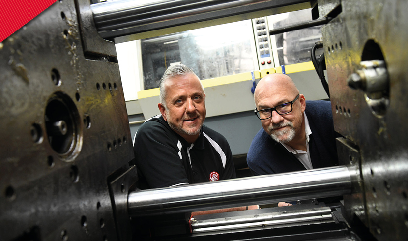 Barkley Plastics celebrates 55 years in business with new £250,000 press investment