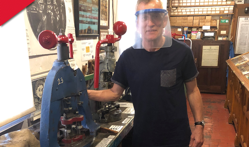 Manufacturers join forces to produce new 'reusable' visors for frontline staff