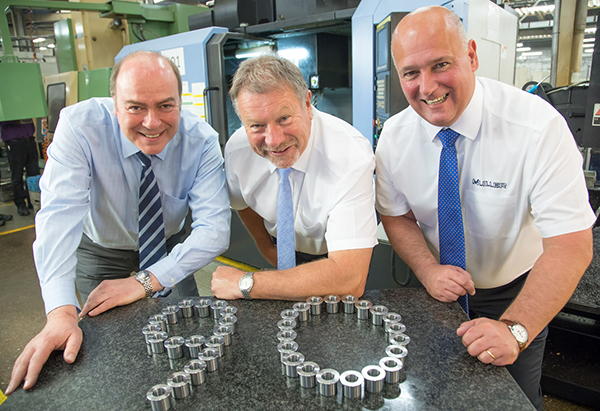 Muller Holdings celebrates 90 years of manufacturing with new contracts